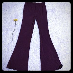 Great purple bellbottoms